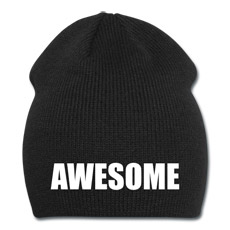 Awesome beanie