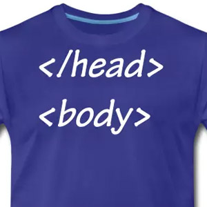Head body html tags