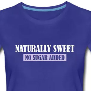 Naturally sweet - No sugar added