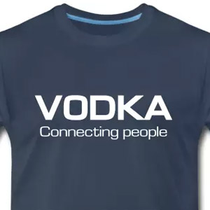 Vodka connecting people