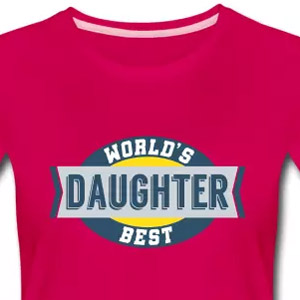 World's best daughter